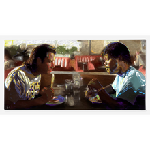 Load image into Gallery viewer, Pulp Fiction Canvas Print Tarantino Poster