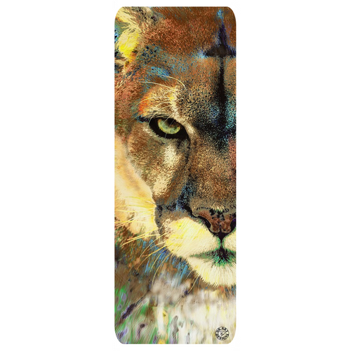 Mountain Lion Yoga Mat Exercise Mat