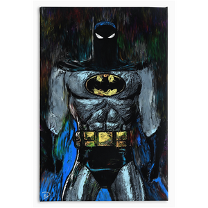 "Batman Animated Series Canvas Print ""I Am The Night"""