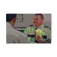 Load image into Gallery viewer, Super Troopers Canvas Print Farva Movie Art