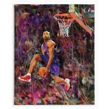 Load image into Gallery viewer, Vince Carter Canvas Print Man Cave Decor