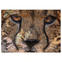 Load image into Gallery viewer, Cheetah Wall Art Psychedelic Tapestry