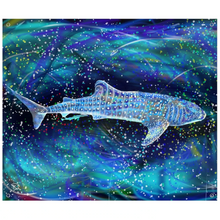 Load image into Gallery viewer, Whale Shark Tapestry Psychedelic Tapestry