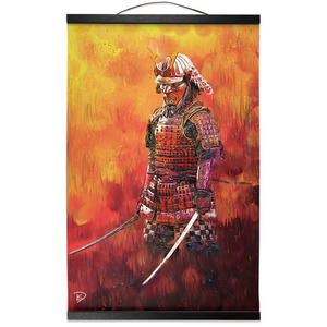 "Samurai Hanging Canvas Print ""Art of Destiny"""