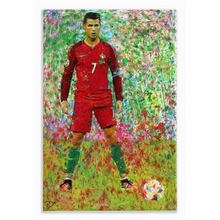 Load image into Gallery viewer, Cristiano Ronaldo Canvas Print Man Cave Decor