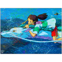 Load image into Gallery viewer, Spirited Away Aluminum Prints