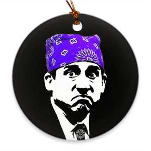 Michael Scott Christmas Ornament Prison Mike Gift