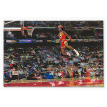 Load image into Gallery viewer, Michael Jordan Canvas Print Michael Jordan Poster