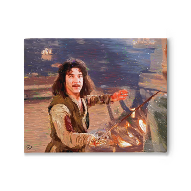 Princess Bride Canvas Print
