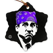 Load image into Gallery viewer, Michael Scott Christmas Ornament Prison Mike Gift
