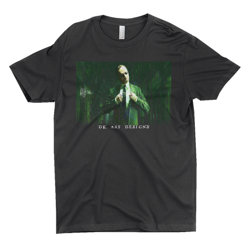 The Matrix Unisex T-Shirt Agent Smith