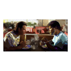 Pulp Fiction Canvas Print Tarantino Poster
