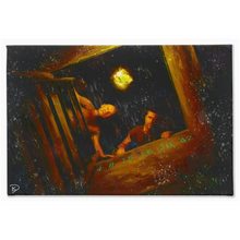 "Load image into Gallery viewer, Lost TV Show Canvas Print ""Man of Science, Man of Faith"""