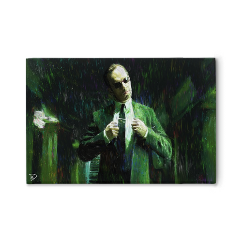 Agent Smith Canvas Print The Matrix Wall Art