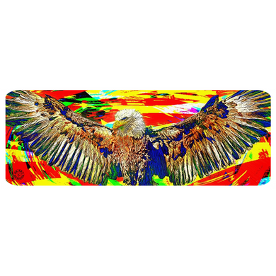 Bald Eagle Yoga Mat Exercise Mat