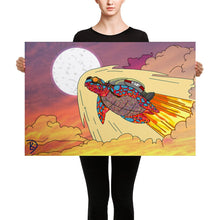 Load image into Gallery viewer, Turtle Painting Turtle Gifts Sea Turtle Print Turtle Wall Art