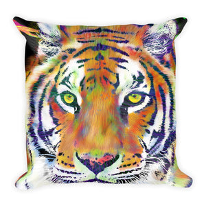 Tiger Throw Pillow Tiger Decor Animal Cushion Home Decor Couch Pillow