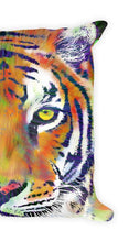 Load image into Gallery viewer, Tiger Throw Pillow Tiger Decor Animal Cushion Home Decor Couch Pillow