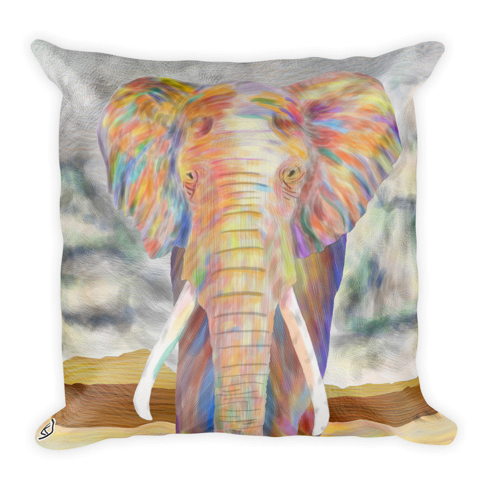 Elephant Throw Pillow Animal Cushion Home Decor Couch Pillow Bed Pillow