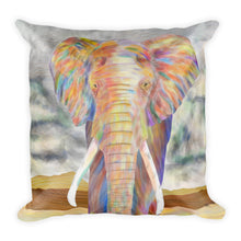 Load image into Gallery viewer, Elephant Throw Pillow Animal Cushion Home Decor Couch Pillow Bed Pillow
