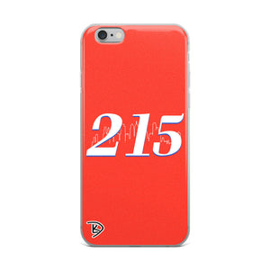 Apple Philadelphia 215 iPhone Case Skyline Sixers Basketball iPhone Case