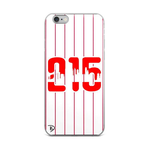 Apple Philadelphia 215 iPhone Case Skyline Phillies Baseball iPhone Case