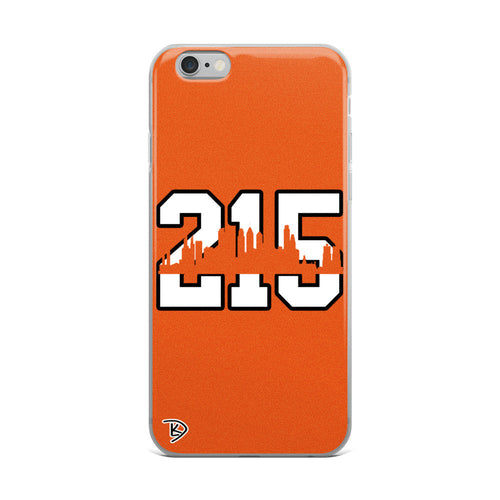 Apple Philadelphia 215 iPhone Case Skyline Flyers Hockey iPhone Case
