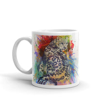 Load image into Gallery viewer, Snow Leopard Coffee Mug