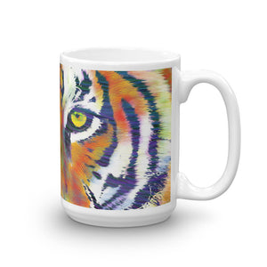 Tiger Eyes Coffee Mug