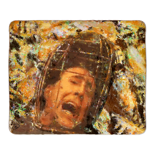 Nicolas Cage Throw Blanket Not The Bees