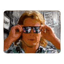 Load image into Gallery viewer, They Live Sherpa Blanket Obey Blanket