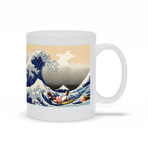 Great Wave of Rum Ham Coffee Mug Always Sunny