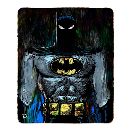 Batman Animated Sherpa Blanket