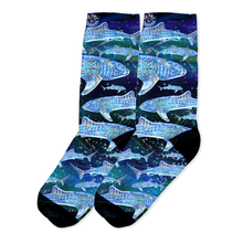 Load image into Gallery viewer, Whale Shark Crew Socks