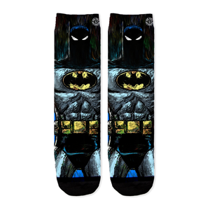 Batman Animated Series Crew Socks