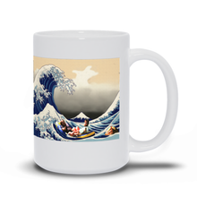Load image into Gallery viewer, Great Wave of Rum Ham Coffee Mug Always Sunny
