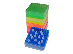I5500-29 81 Well Freezer Storage Rack - case of 20, assorted colours
