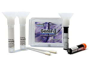 GeneFiX Assisted Saliva DNA Collector with 2d Bar Coded Tube - 1ml