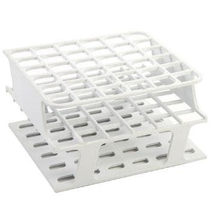 36-Place Half OneRack for 16mm tubes, white 8/case
