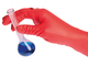 SHIELDskin Chem Neo Nitrile 300, Red, Pack of 40 gloves