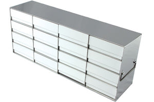 "4 x 5 Freezer Rack, holds (20) 2"" boxes"