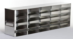 "5 x 4 Freezer Rack, holds (20) 2"" boxes"