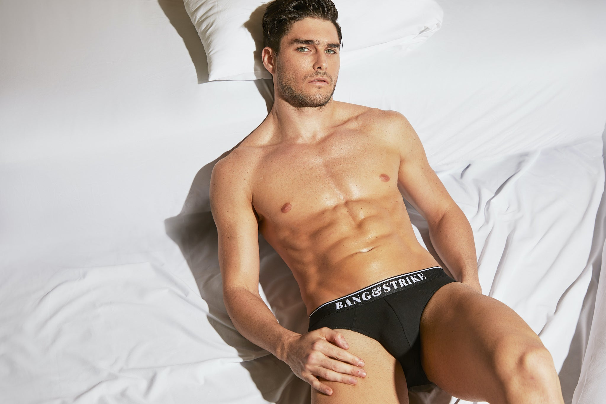 BANG&STRIKE Core Black Cotton Stretch Brief