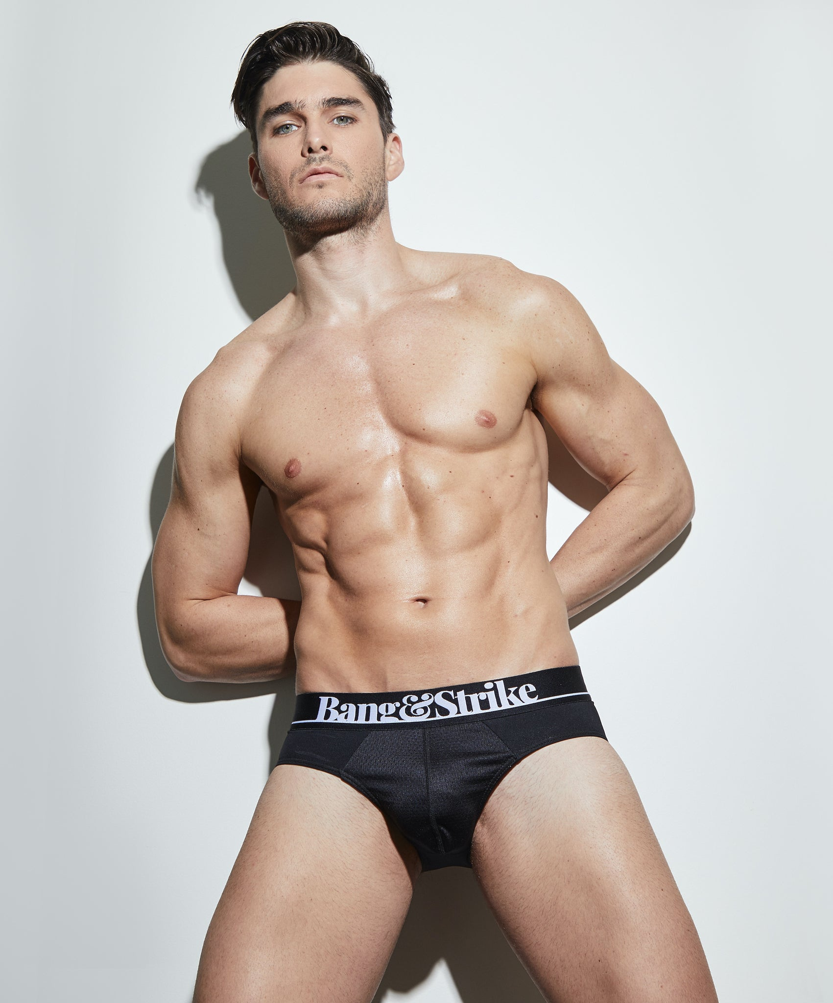 Charlie Matthews in BANG&STRIKE Flex Sport Brief