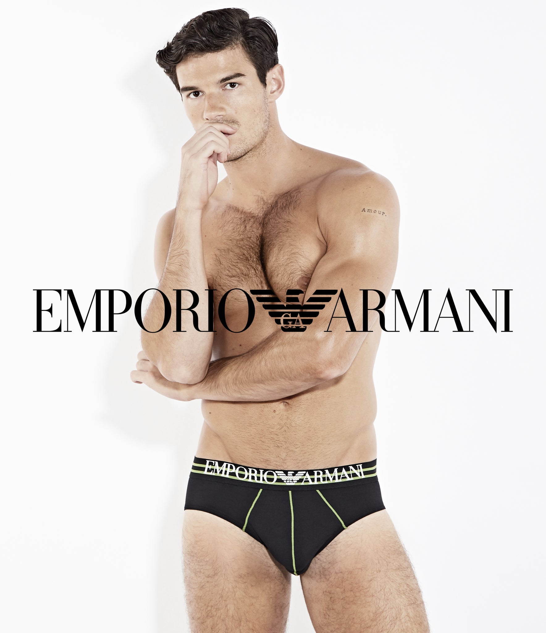 Emporio Armani Underwear at BANG&STRIKE