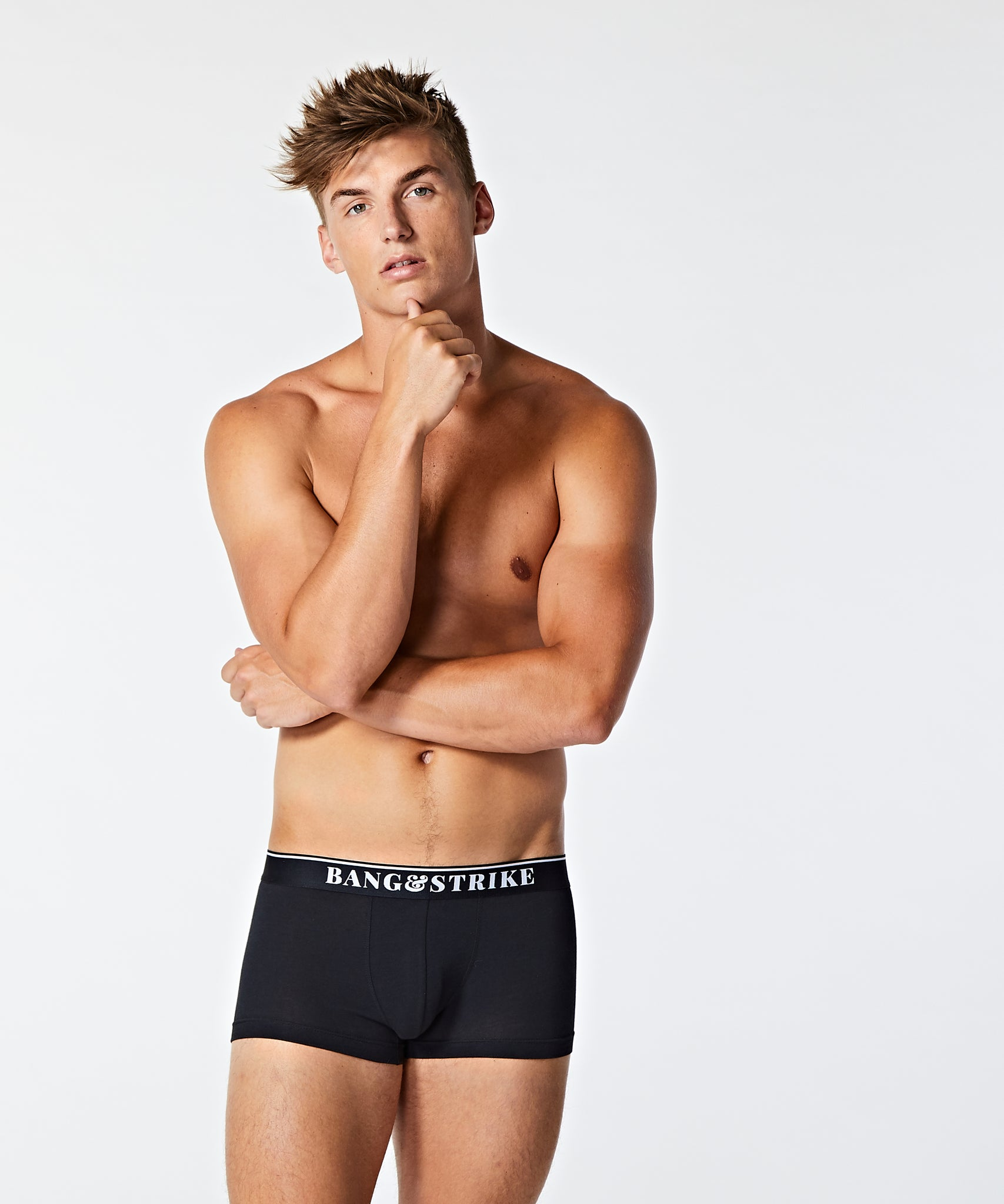 Core Cotton Trunk Black - BANG & STRIKE