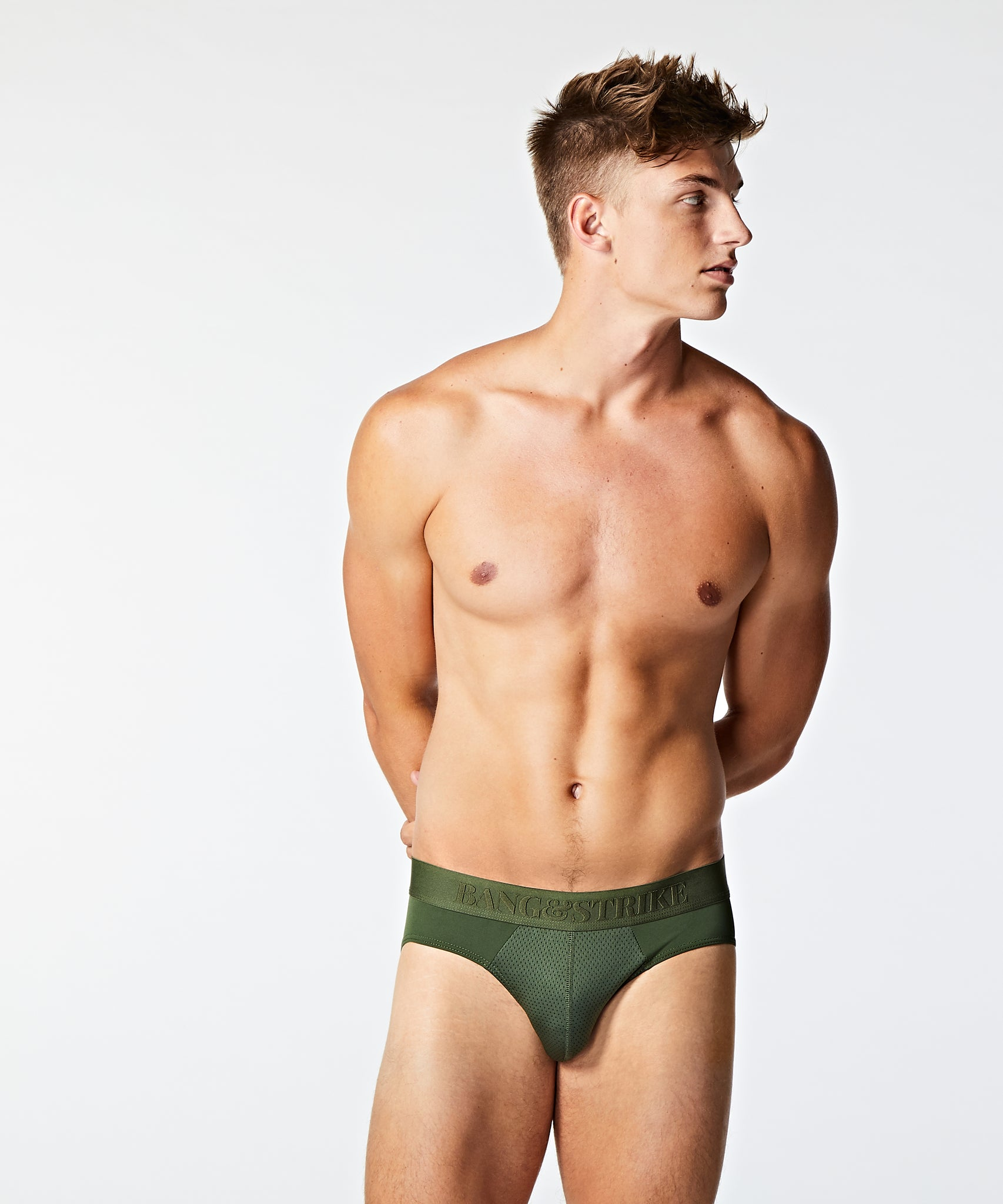 STRIKE PRO Emboss Sport Brief Forest - BANG & STRIKE