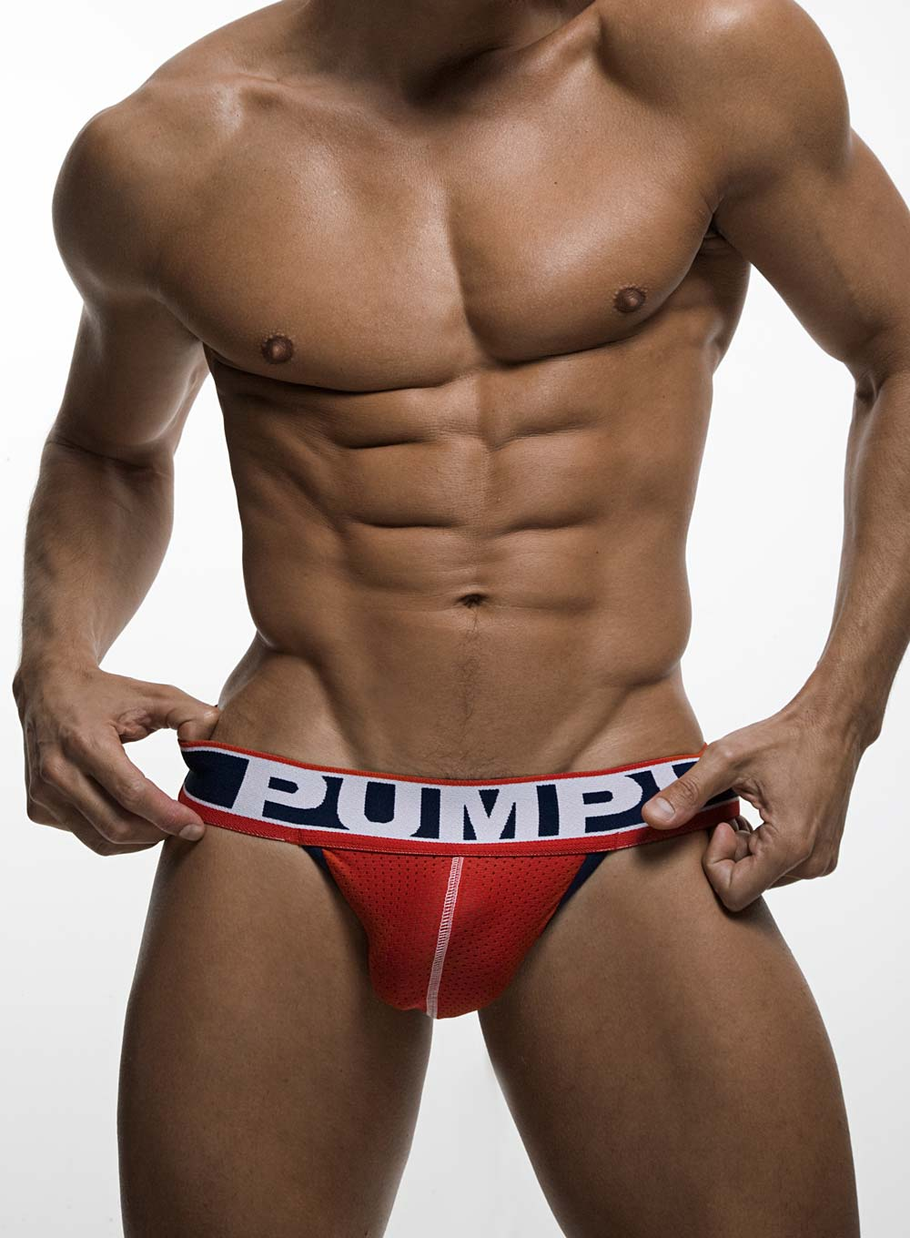 PUMP! FEVER  Red JockStrap