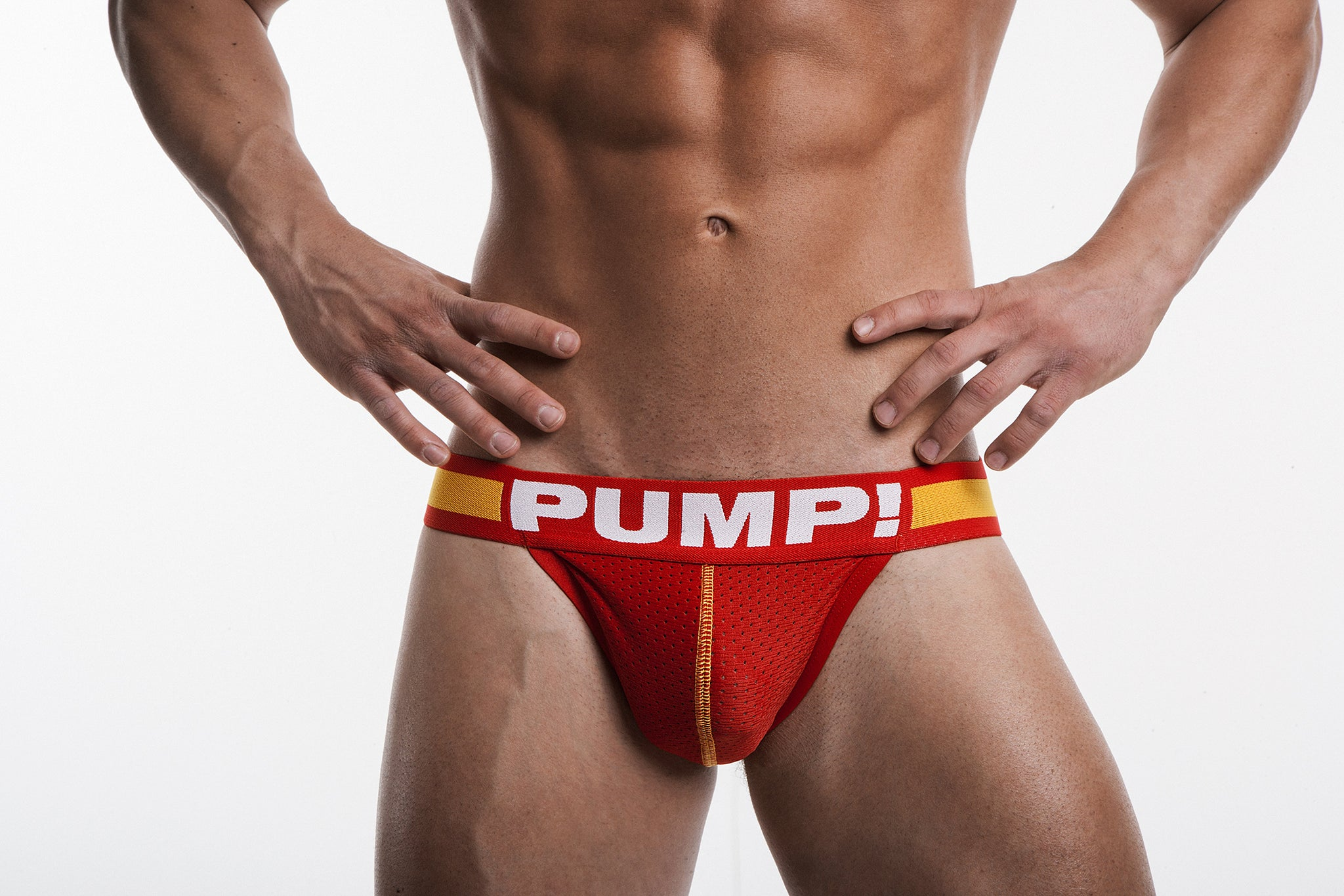 PUMP! FLASH Red JockStrap