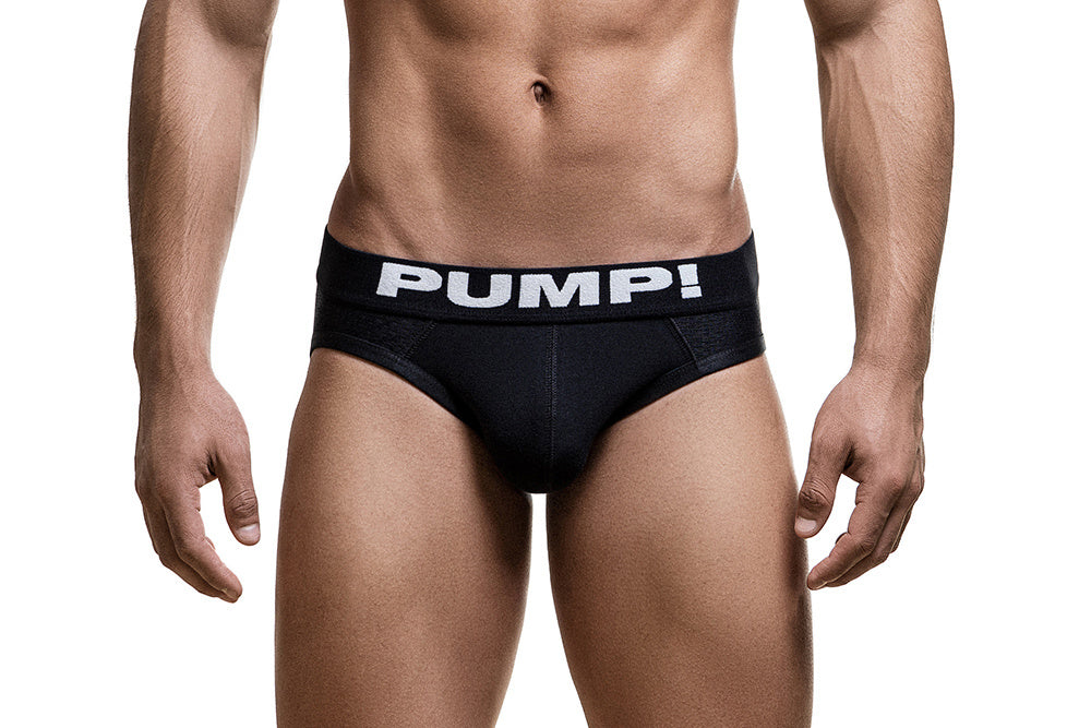 PUMP! Classic Black Brief